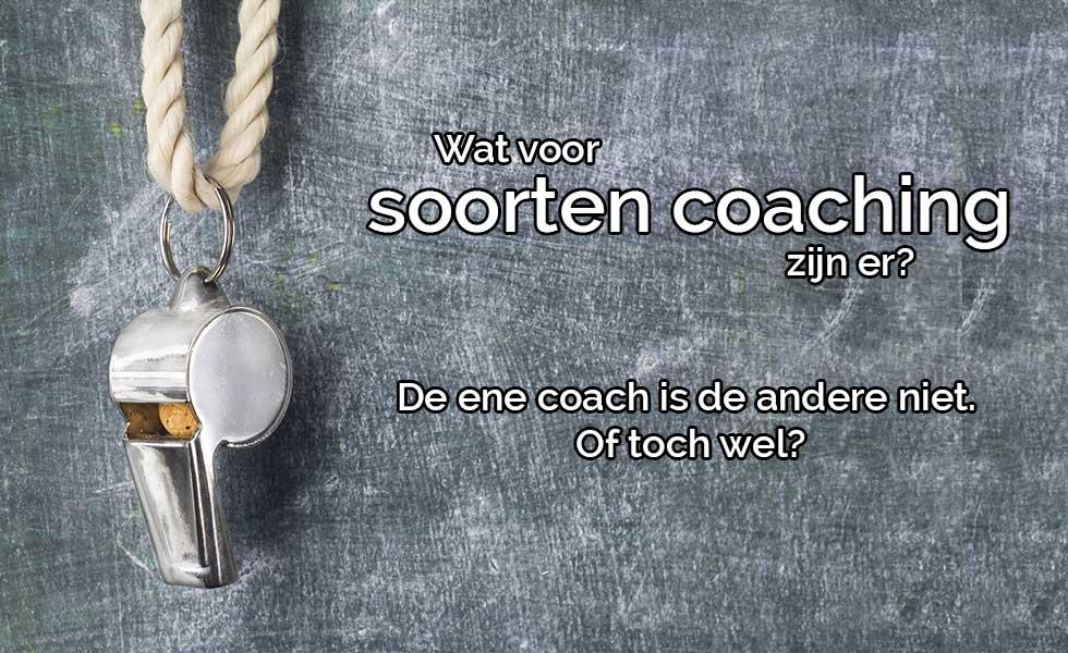 Soorten coaching